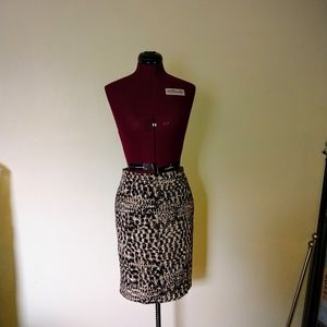 Ann Taylor Size 2 Skirt Straight Lined
